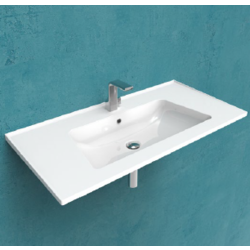 Bloom 105 wall hung consolle Flaminia Bloom