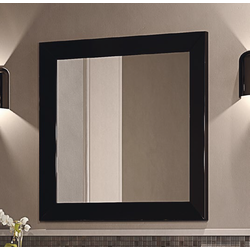 Evergreen 80x80 mirror with wood frame EG80S 3D Flaminia Evergreen