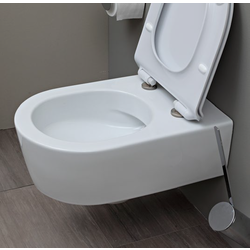 Link wall hung wc with goclean system 5051-WCG 3D Flaminia Link