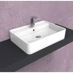 Miniwash 60 countertop basin with tap ledge MW60PR Flaminia Miniwash Fly