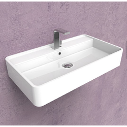 Miniwash 75 wall hung basin with tap ledge MW75S 3D Flaminia Miniwash Fly