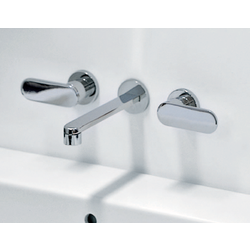 One 3 hole built-in basin mixer 113060 Flaminia One