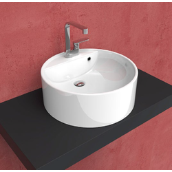 Twin Set 52 single-hole countertop basin 5050-A Flaminia Twin Space