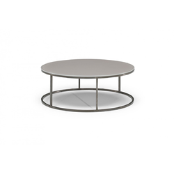 CABARET D90 H33 PEWTER/ARGENTONE Natuzzi Coffee Tables