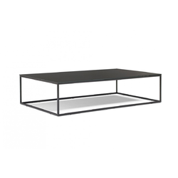 CABARET 140X80 H34 77/CHROME GLOSSY Natuzzi Coffee Tables