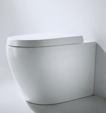 Floor standing toilet - Collection Gina by Bravat | Tilelook