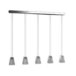 VICKY D69 MULTIPLE PENDANT LAMP 5 spots Fabbian Pendant