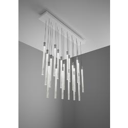 MULTISPOT Tooby F32  PENDANT LAMP 90x15cm - 20 spots Fabbian Pendant