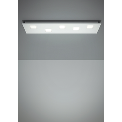 QUARTER F38 WALL & CEILING LAMP 70x20cm Fabbian Ceiling