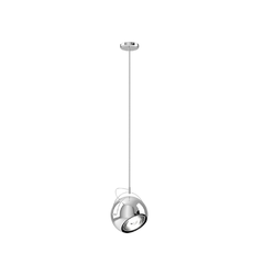 BELUGA STEEL D57	SINGLE PENDANT LAMP 14cm - Fix Fabbian Pendant