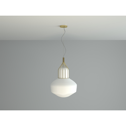 AEROSTAT F27  PENDANT LAMP WITH METAL BASE 43cm Fabbian Pendant