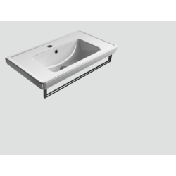 878811 90x50 Washbasin with overflow classic GSI Ceramica Classic