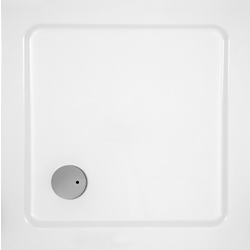Quickr80x80 Showering Glass 1989 Shower Trays