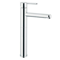 Single lever basin mixer high-XXL Mariani Rubinetterie Noir