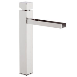 high basin mixer with cascade spout Mariani Rubinetterie River