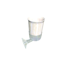 Cup holder with ceramic cup Devon&Devon Bath Decors