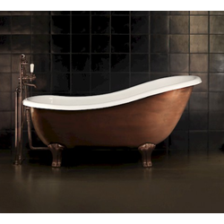 REGINA COPPER EFFECT Devon&Devon Bathtubs
