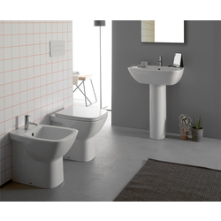 Floor mounted WC Cod. DA002.BI Globo Daily