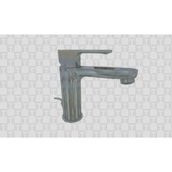 60054 Single-lever washbasin mixer with pop-up waste F.lli Frattini Mocca