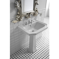 Basin 60cm one hole Gentry Home Claremont