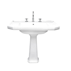 Basin 92,5 cm one hole Gentry Home Claremont
