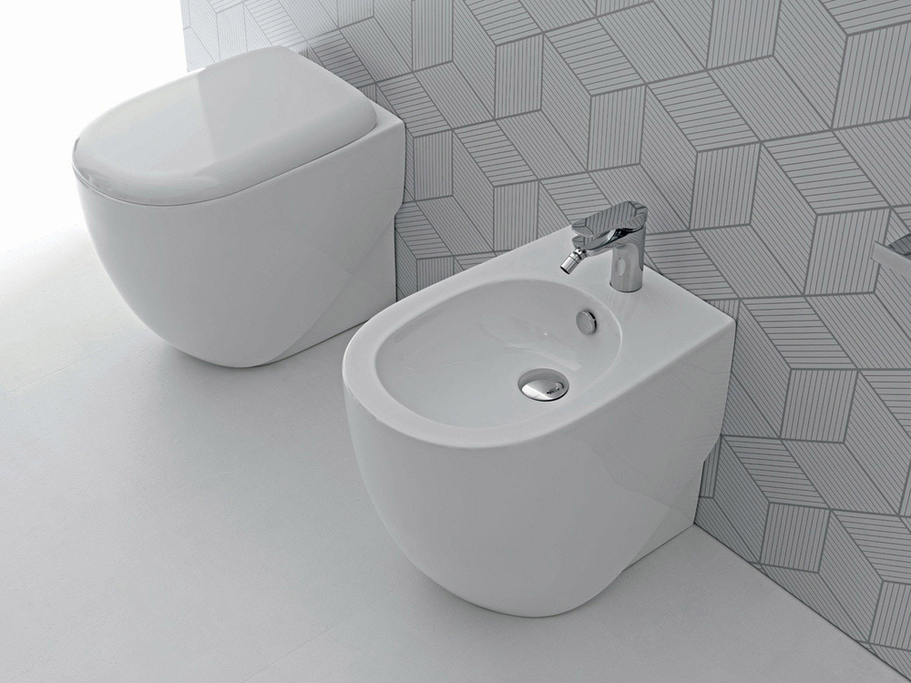 Hidra Ceramica Serie Abc.Vaso A Pavimento Collection Abc By Hidra Ceramica Tilelook