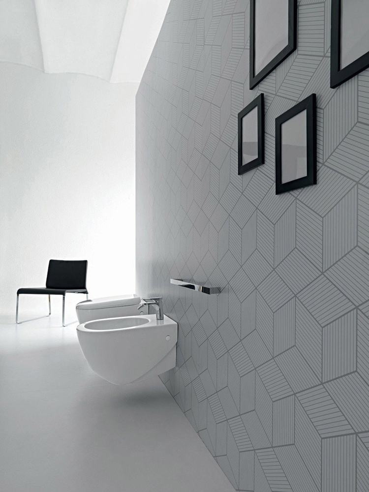 Hidra Ceramica Serie Abc.Vaso Sospeso Collection Abc By Hidra Ceramica Tilelook