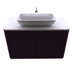 cabinet for washbasin (Plano In Liso Morado) Fiora InTOUCH