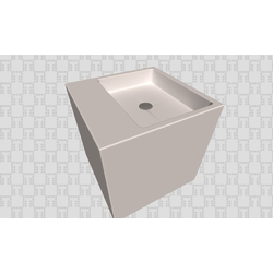 LAVABO PUZZLE Bath The Solid Surface by Azulev LAVABOS