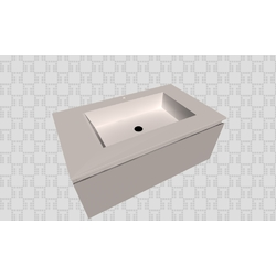 LAVABO MOD 2 SERIE IMPRESSION Bath The Solid Surface by Azulev MUEBLES DE BAÑO