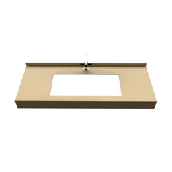 STRAIGHT CONSOLE FOR INSET SINK Fiora Fontana