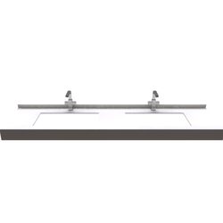 STRAIGHT CONSOLE FOR DOUBLE INSET SINK Fiora Fontana