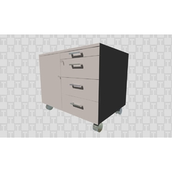 KLMS003 Quadrifoglio Office drawer units