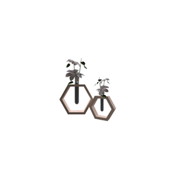 Hex+flower+vases Tilelook Generic Accessories