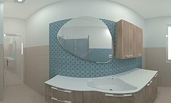 BAGNO SOL.2-SOLDINI GABRI... Classic Bathroom JESSICA ORAZI
