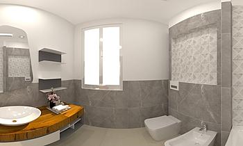 BAGNO 1-VITALI VALENTINO Classic Bathroom JESSICA ORAZI