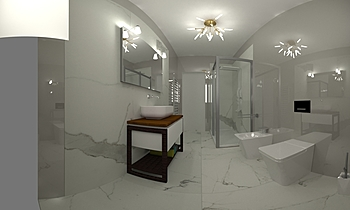 Bagno Cerim Timeless Ragn... Klasický Koupelna Zin Massimo