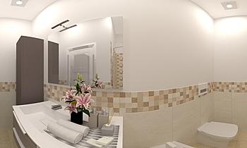 BAGNO-CAMMERTONI NAZZAREN... Classic Bathroom JESSICA ORAZI