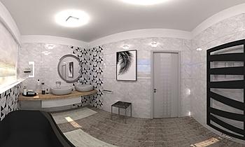 koupelna Klassiker Badezimmer Lucie Nosková