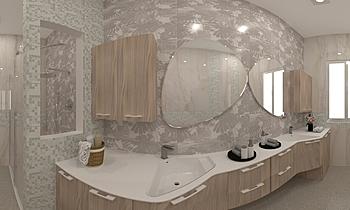 BAGNO PIANO PRIMO-PAURI u... Classic Bathroom JESSICA ORAZI
