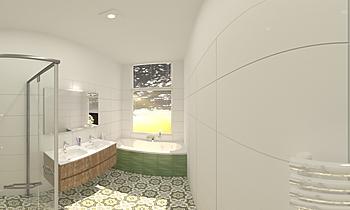 fase 13 leeuwendaal badka... Classic Bathroom Patrick van der Meer