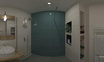 patrick en Miranda badkam... Classic Bathroom Patrick van der Meer
