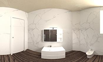 banje shtepie Klasický Koupelna enea kalaveshi