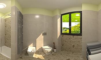 bagno padronale MLM 11 Klasický Koupelna andrea de chiara