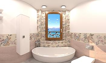 BAGNO PARLATO 2  Romantic Bathroom ANDREA SEBASTIANO  LEONARDI