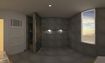 Vegter badkamer Classic Bathroom Patrick van der Meer