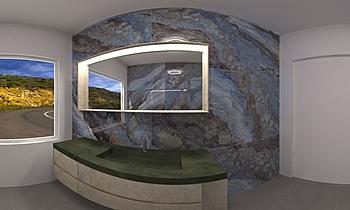 Bagno Mystic 360° Modern Bathroom Simone Cocquio