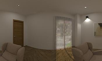 salon maria Moderní Obývací pokoj Francisco jose rodriguez