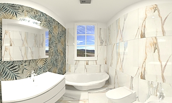 Amatruda Moderní Koupelna Domenico Palomba