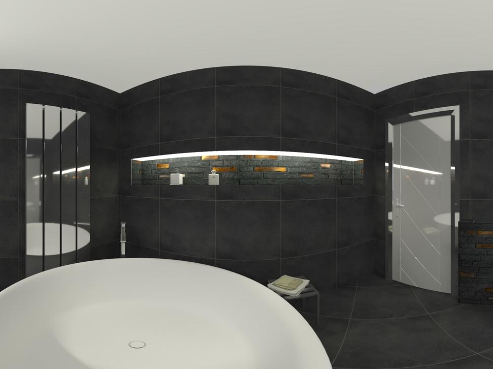 Bagni Con Vasca Moderni.Bagno Moderno Con Vasca Tilelook
